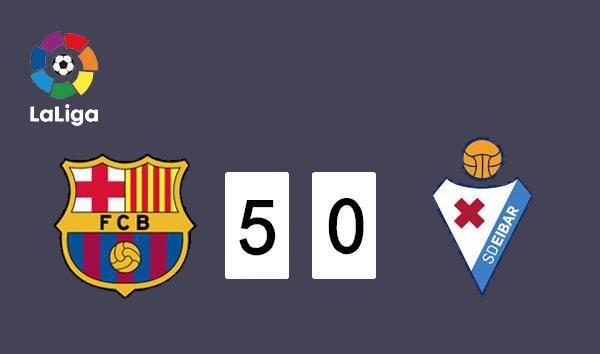 Barcelona supera al Real Madrid al No. 1 en La Liga
