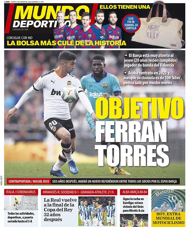 Reporte de Ferran Torres